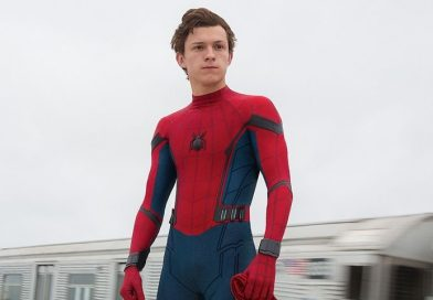 Tom Holland w nowym kostiumie u Jimmy'ego Kimmela