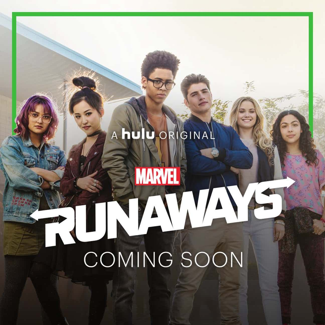 The Runaways, Runaways, Marvel, Hulu