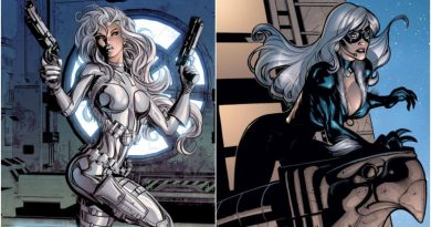 Silver Sable & Black Cat