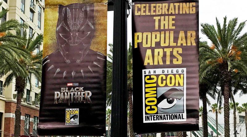 """""""Black Panther"""" / """"Thor: Ragnarok"""" – Bannery promocyjne na SDCC 2017"""