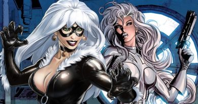 Silver Sable, Black Cat, Silver and Black