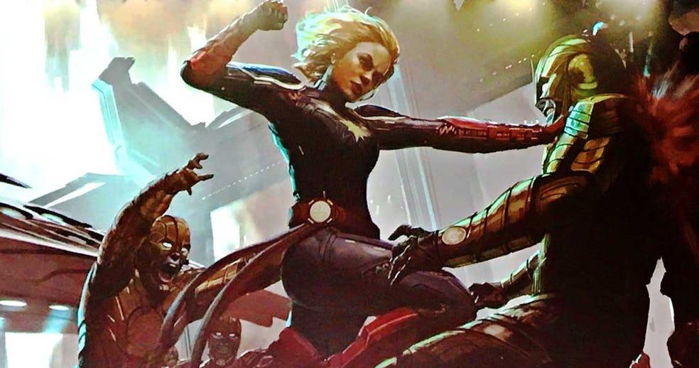 Captain Marvel Carol Danvers baton rouge