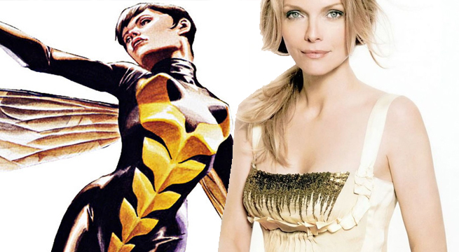 Wasp, Michelle Pfeiffer, Ant-Man and The Wasp, Janet Van Dyne