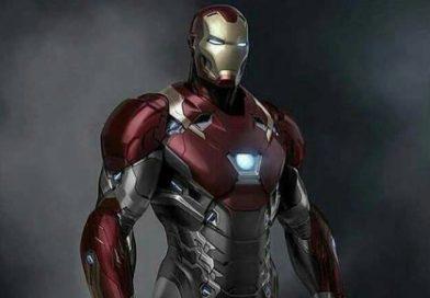 Figurkowy Iron Man z serii Funko Wobblers