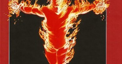 Ludzka Pochodnia, Johnny Storm, Human Torch, SBM, Superbohaterowie Marvela
