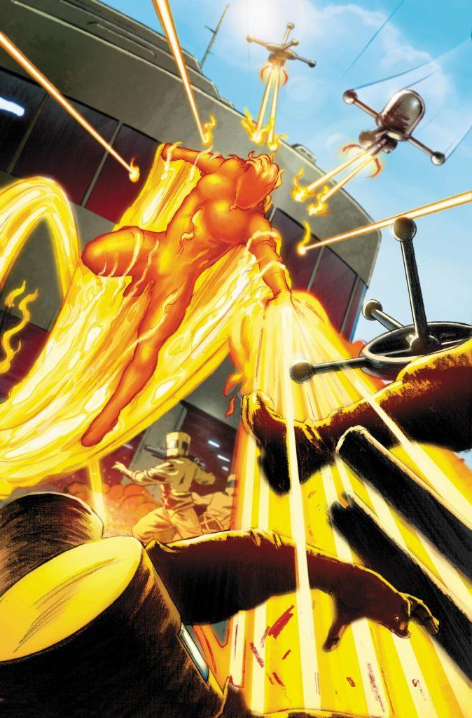 Ludzka Pochodnia, Johnny Storm, Jim Hammond, Human Torch, Torch, Fantastic Four, F4, Marvel, Marvel Comics, Marvel Universe, SBM, Superbohaterowie Marvela