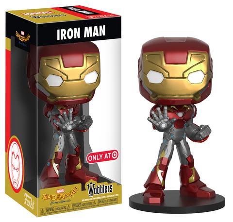 Iron Man, Funko Wobblers, Spider-Man: Homecoming