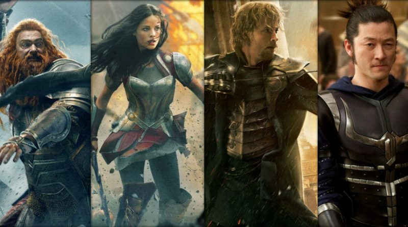 Lady Sif - Warriors Three (Thor The Dark World), Thor: Ragnarok
