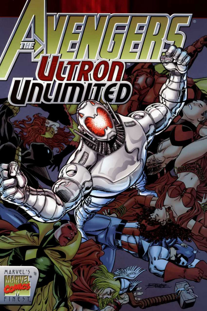 Avengers, Ultron, Ultron Bez Ograniczeń, SBM, Superbohaterowie Marvela