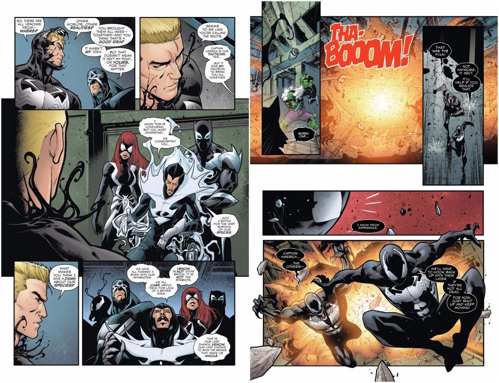 Venomverse, Venom, Symbiote, Symbiont