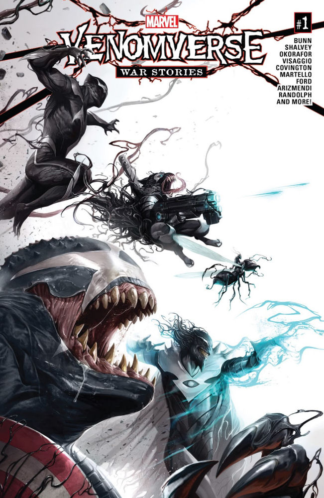 Venomverse, War Stories, Venom, Symbiote, Symbiont