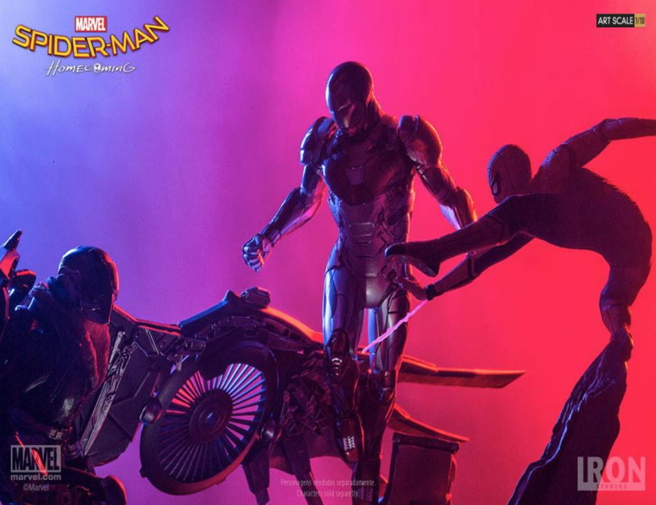 spider-man, iron man, vulture, spider-man: homecoming
