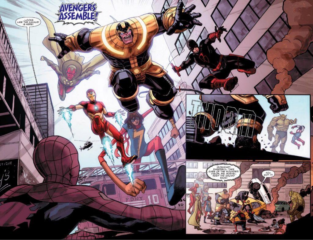thanos - marvel comics