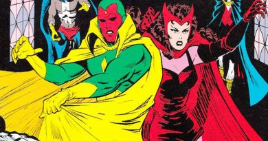 vision - scarlet witch
