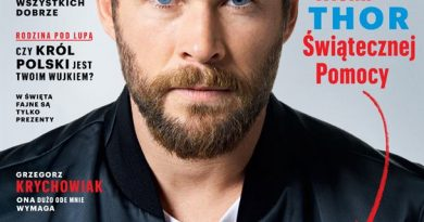 Chris Hemsworth Esquire Polska WOSP