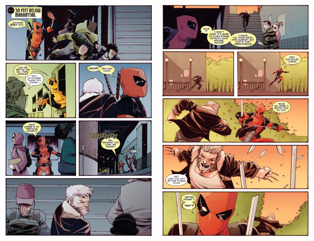 Deadpool vs. Old Man Logan #1