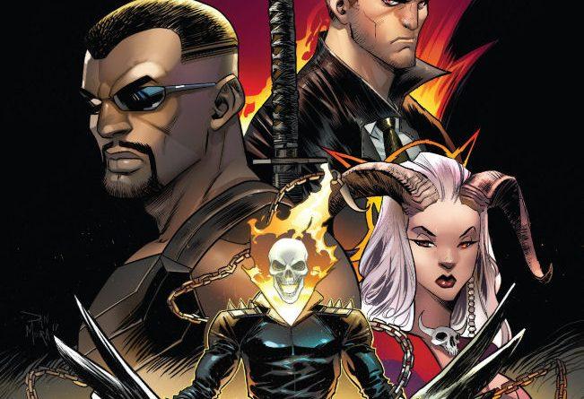 Spirits of Vengeance, Ghost Rider, Blade, Satana, Hellstorm