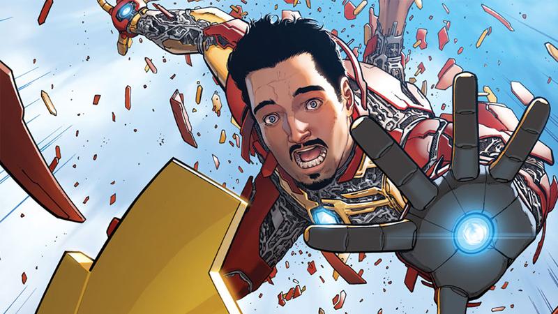 Brian Michael Bendis Iron Man Tony Stark