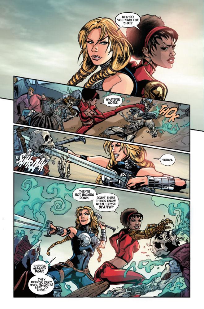 Superbohaterowie Marvela, Walkiria