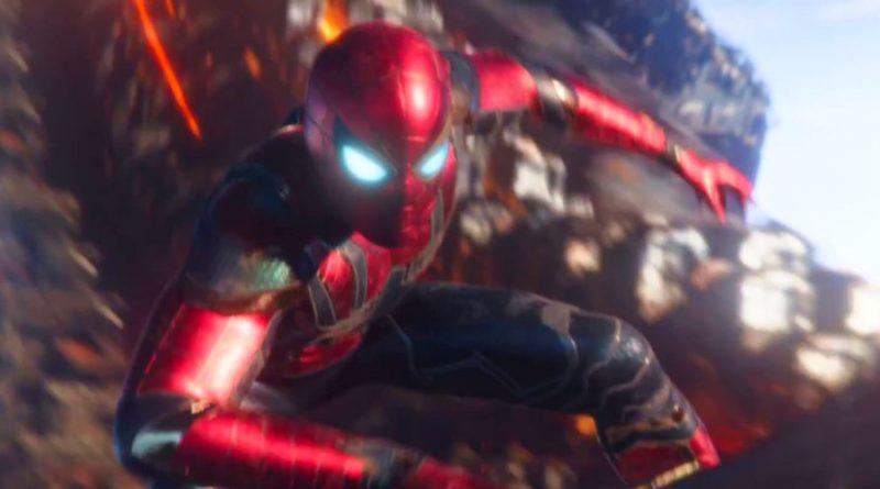 Avengers Infinity War, Spider-Man, Iron Spider