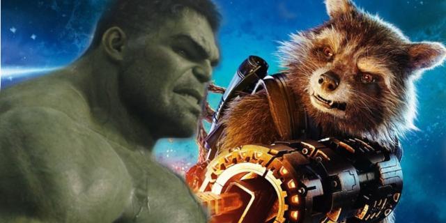 Hulk and Rocket