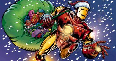 Iron Man, Tony Stark, Mikołaj, Santa, Święta, Christmas, Marvel, 2017