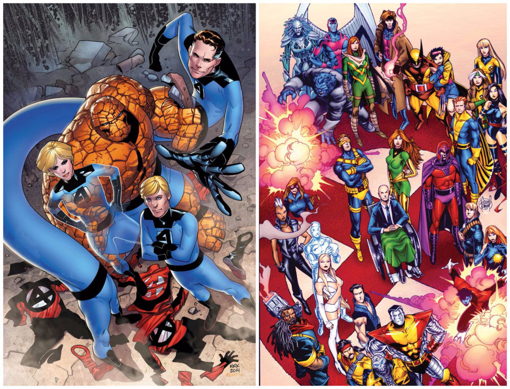 Fantastic Four & X-Men