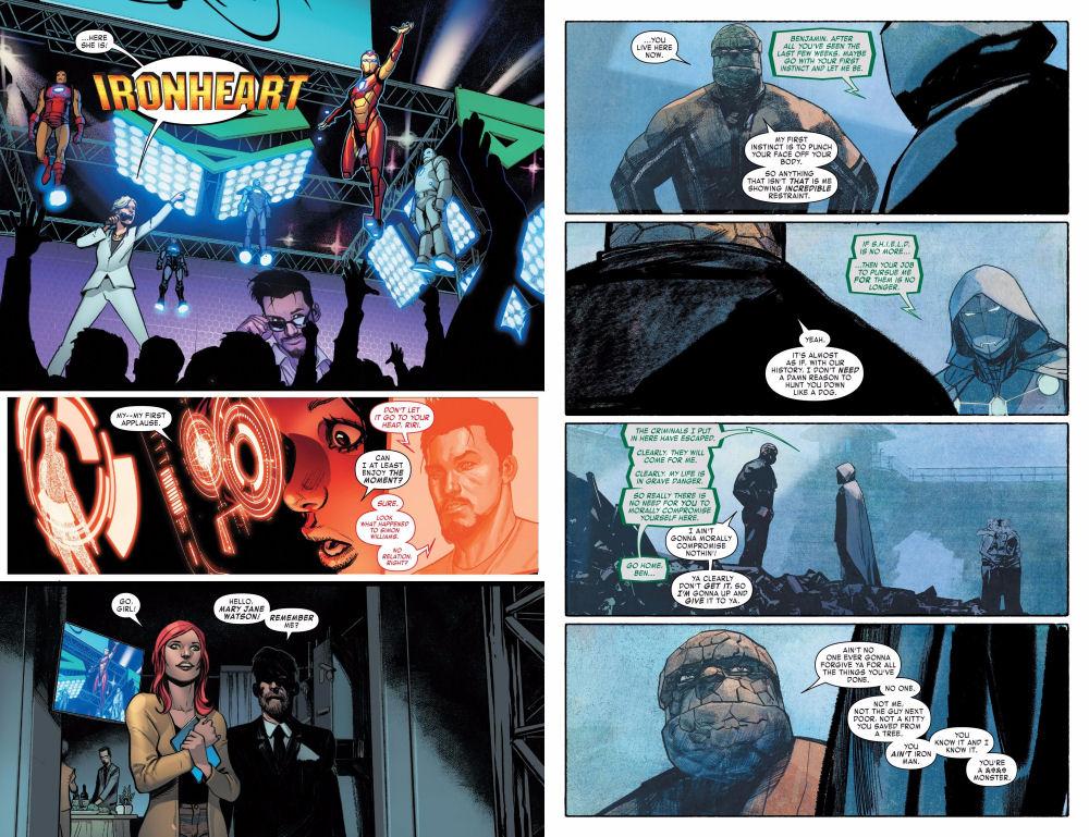 Invincible Iron Man 593-594 Legacy