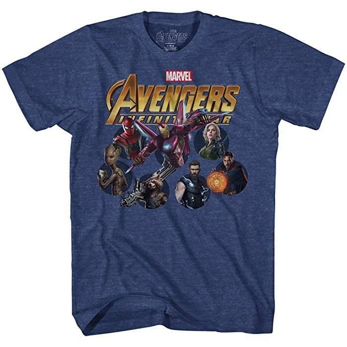 82051e26abb227 Iron Man Avengers Infinity War T-Shirt - Planeta Marvel