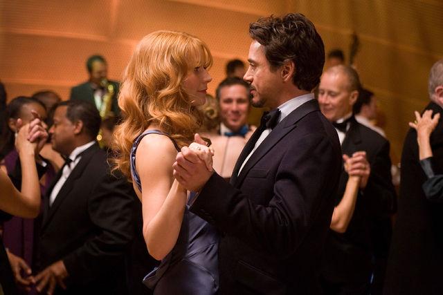 Gwyneth Paltrow & Tony Stark