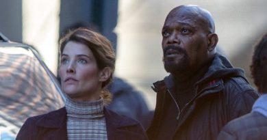Maria Hill & Nick Fury, Samuel L. Jackson