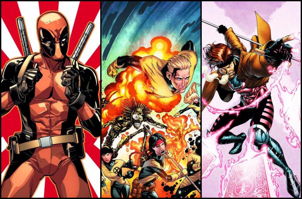 Fox, Deadpool 2, New Mutants, Gambit