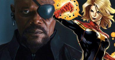 Nick Fuy, Captain Marvel