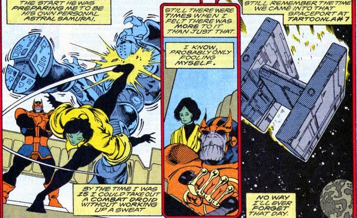 Thanos, Statek, Sanctuary