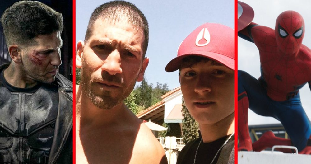 Jon Bernthal, Tom Holland, Punisher, Spider-Man