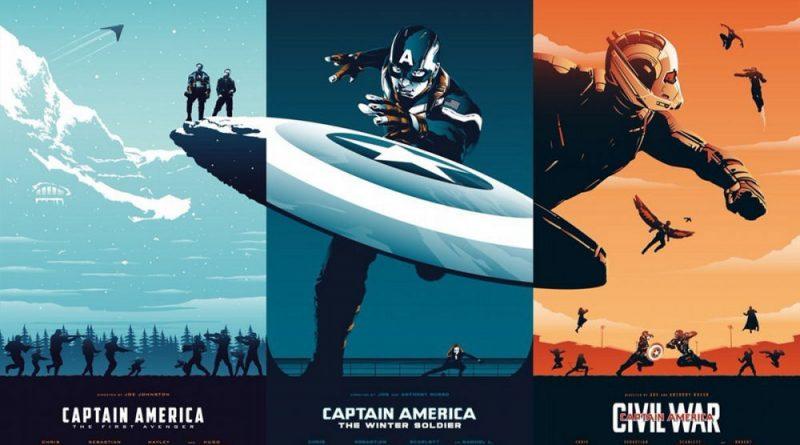 Captain America, Plakaty