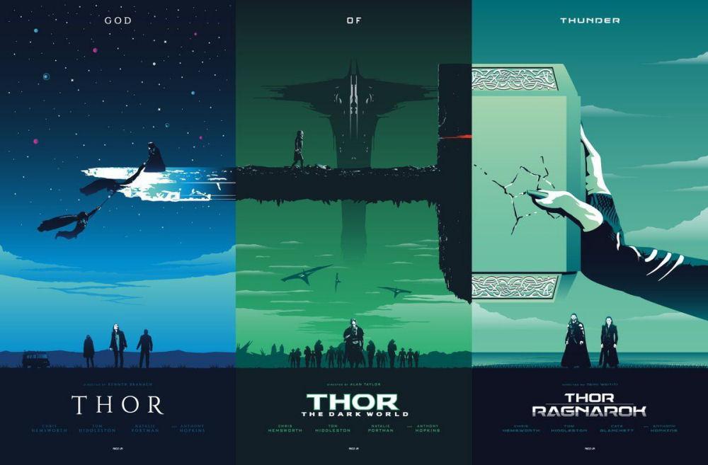 Thor, Plakaty