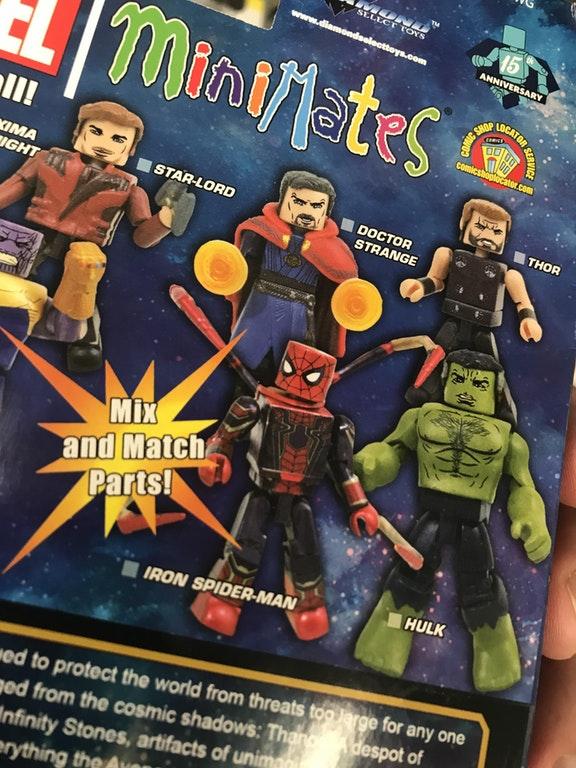 Avengers: Infinity War, Iron Spider, MiniMates