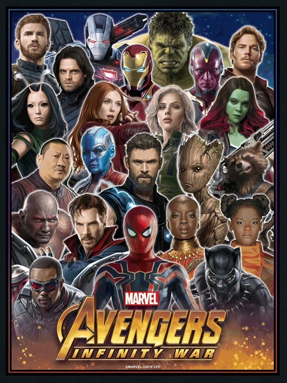 Avengers Infinity War, Infinity War, Entertainment Weekly, Cover Poster