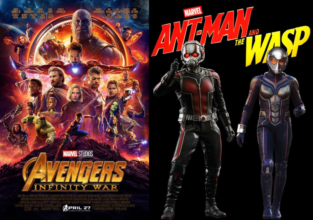 Infinity War, Ant-Man and The Wasp