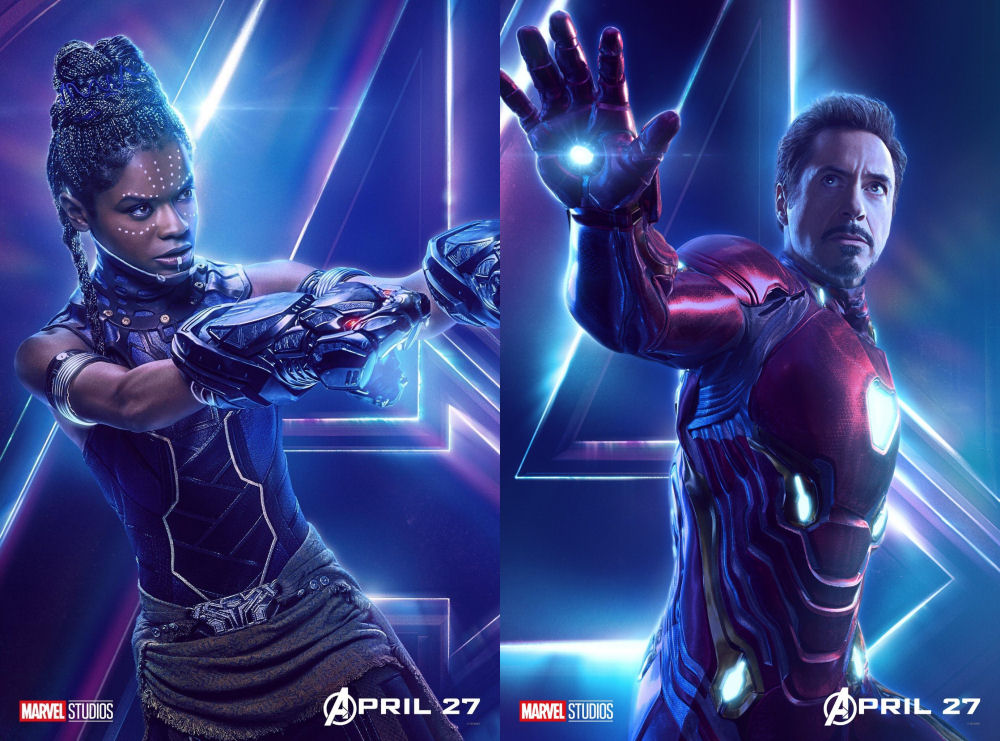 Avengers Infinity War, Shuri, Iron Man