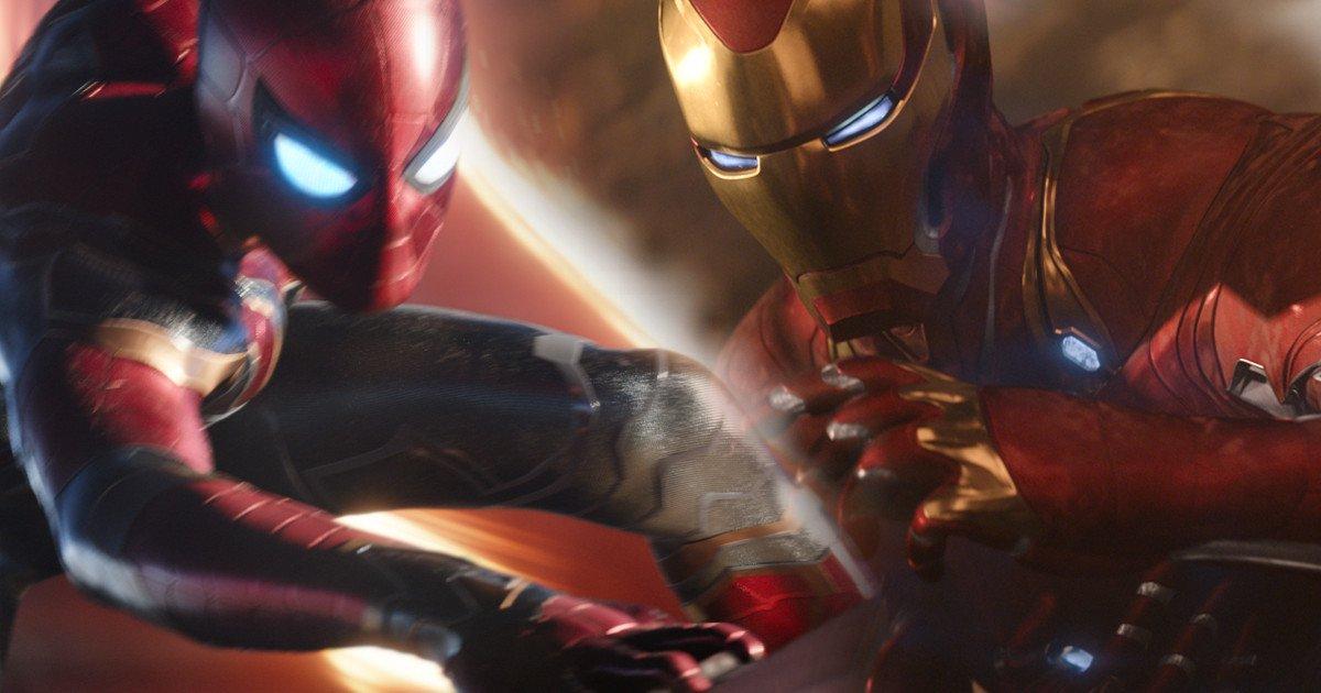 Avengers Infinity War, Spider-Man, Iron Man