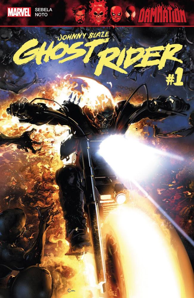 """Damnation: Johnny Blaze – Ghost Rider #1"" – Recenzja"