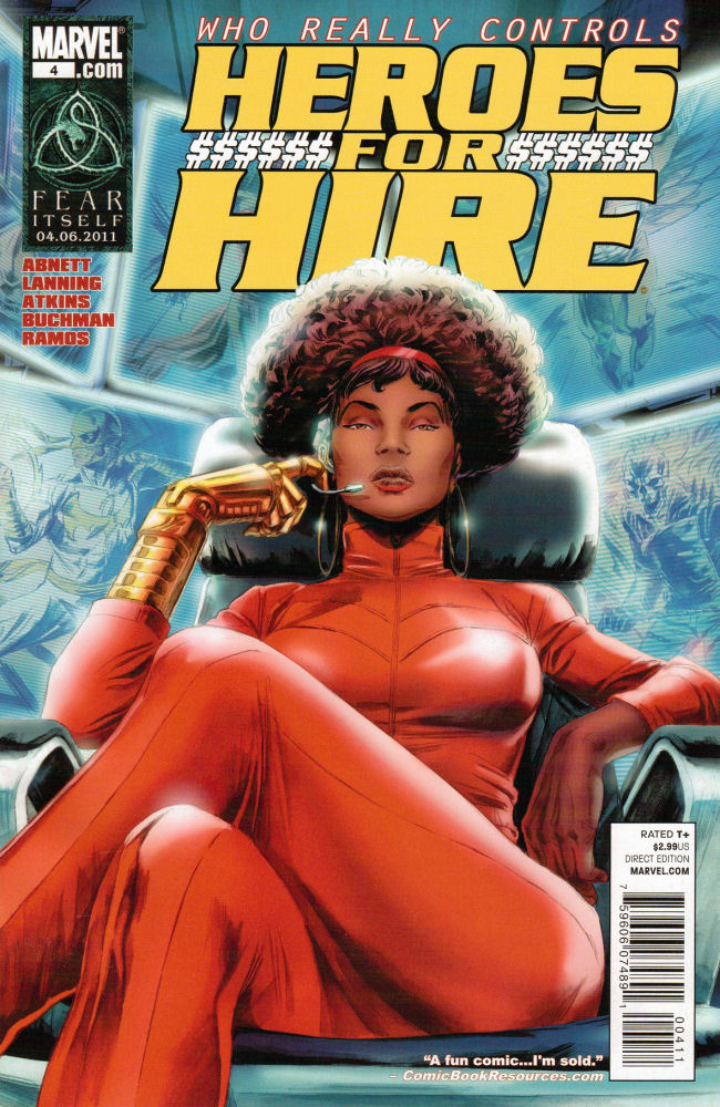 Misty Knight, Heroes for Hire
