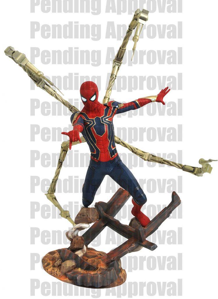 Avengers Infinity War, Iron Spider, Spider-Man