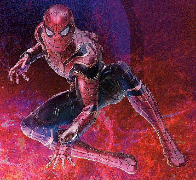 Infinity War, Iron Spider, Spider-Man