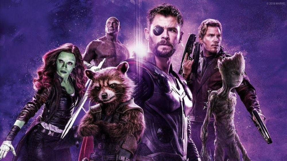 Infinity War, Thor, Guardians of the Galaxy