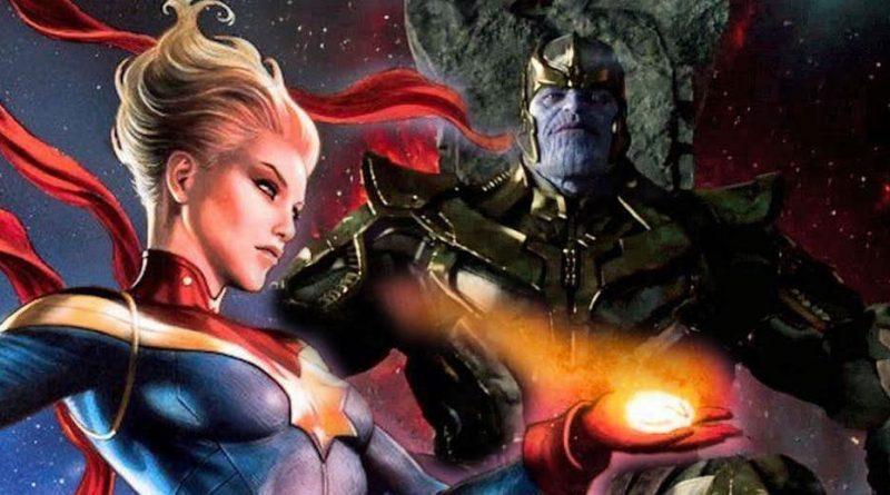 Captan Marvel Brie Larson Thanos Josh Brolin
