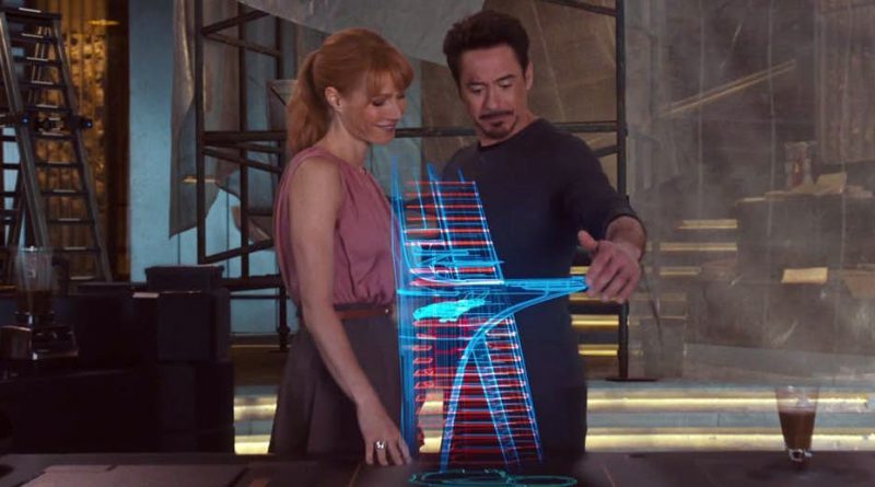 Pepper (Gwyneth Paltrow) i Tony (Robert Downey Jr.)