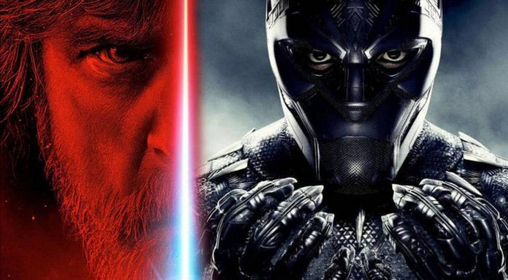 Black Panther, Star Wars The Last Jedi